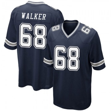 Youth Dallas Cowboys Ricky Walker Navy Game Team Color Jersey By Nike