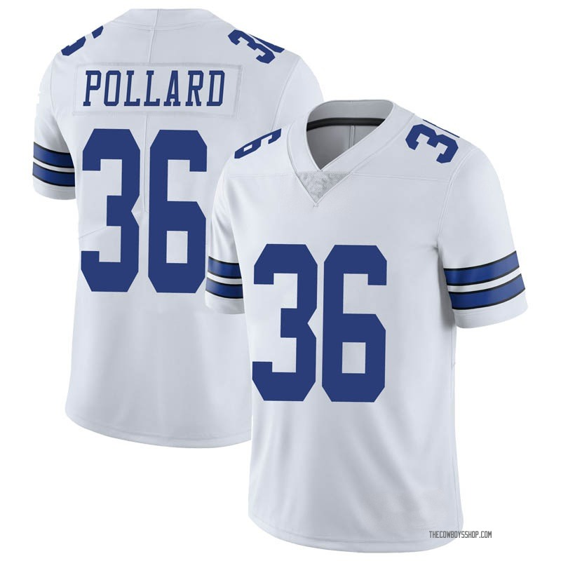 official photos 18b1b 410b0 Youth Dallas Cowboys Tony Pollard White Limited Vapor Untouchable Jersey By  Nike